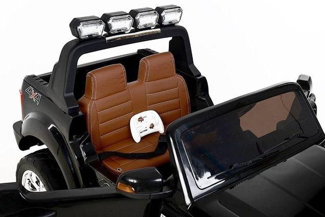 Электромобиль Ford Ranger F650 4WD (2х местный, колеса резина, пульт, музыка)