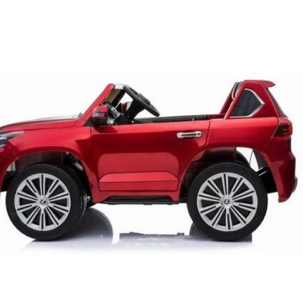 Электромобиль Mercedes-Benz X-Class 4WD MP4 красный (сенсорный дисплей, 2х местный, полный привод, резина, кожа, пульт, музыка)